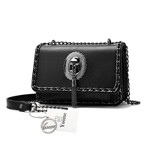 Sacchetti di sacchetto della borsa della catena della nappa della nappa di modo di Yoome di modo per e borse per gli adolescenti delle borse delle signore