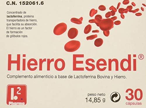 Hierro Esendi 30 Cápsulas: Amazon.es: Salud y cuidado personal