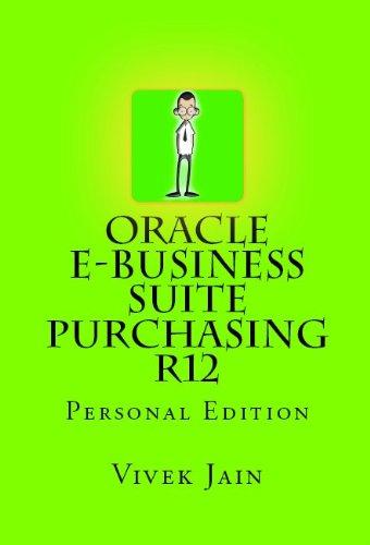Oracle e-Business Suite Purchasing R12 Pdf