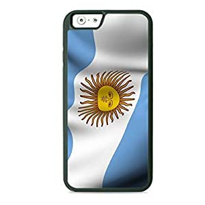 Case Fun Case Fun Flag of Argentina Style 2 TPU Rubber Back Case Cover for Apple iPhone 6 4.7 inch
