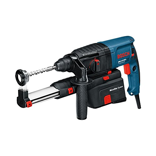 Bosch GBH 2-23 REA Professional Dust Extraction Hammer with SDS-plus For Expert Easy Grip 710W (220v Corded Europe type C plug)
