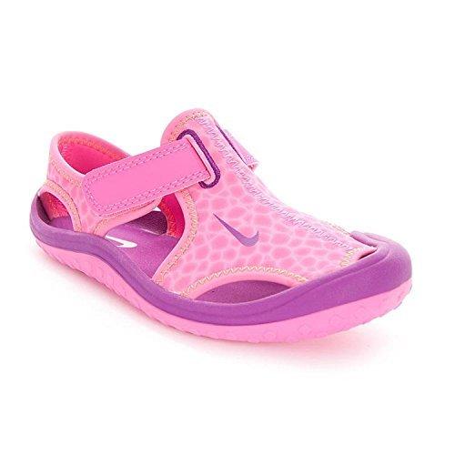 Nike Baby Girls Sunray Protect Sandal (1, Pink Pow/Total Orange/Bold Berry)