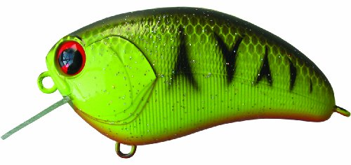 - ima Japan Square Bill Lures (Barred Black Back Chart, 2.25-Inch)