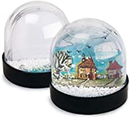 Color-Me Snow Globes (Pack of 12)