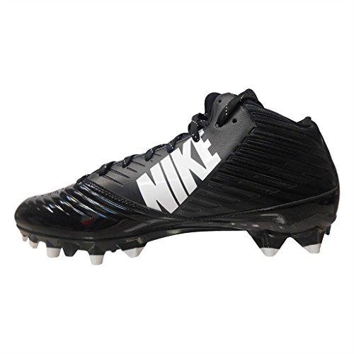 Mens Nike Vapor Speed Low TD Football Cleat Black/White/Black Size 11 M US (8.5, Black)
