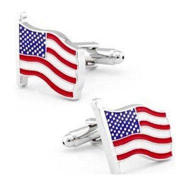 Zealmer Stainless American Cufflinks Business
