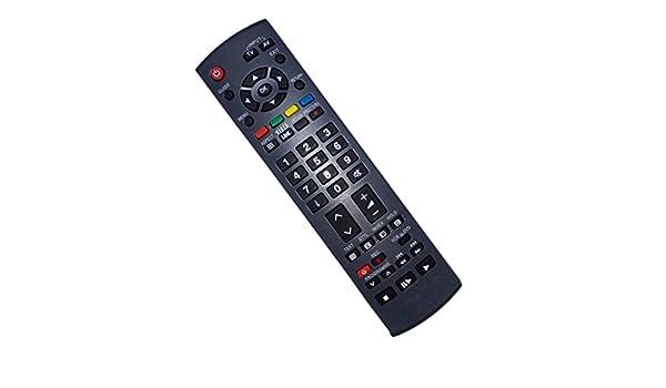 Mando a distancia reemplazado compatible para Panasonic TX-32LMD71F TX32LMD70 TH-42PX70A TH37PV7P/F TH-50PX8E TH42PZ8EA TH-42PX7EB VIERA LCD LED Plasma HD TV: Amazon.es: Electrónica