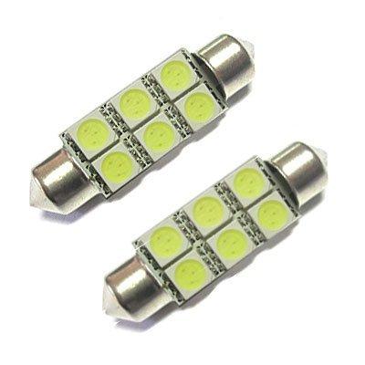 Xtremeauto® Lampadine da interni per auto, 12V, tipo di LED: 239-272 da 6 SMD, dimensioni: 39mm, colore: bianco, confezione da 2 XtremeAuto®