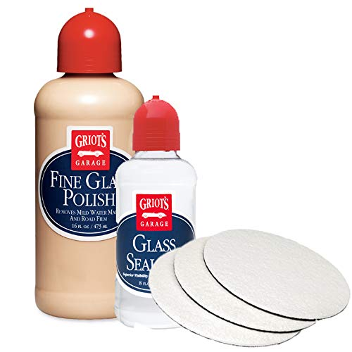 Griot's Garage 3'' Fine Glass Polishing and Sealant Kit by Griot's Garage (Image #1)