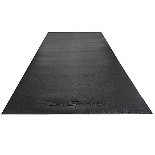 ZENY Treadmill Mat Gym Rubber Floor Mat High Density Fitness Exercise Equipment Mats,Extra Large Exercise Bike Mat,Jump…