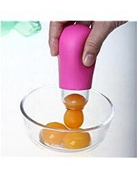 Buy 1pcs Vitellus Egg Separator Egg White Separator Egg Yolk Gel Dividers Suction Egg Yolk Out Separators Cooking... deal
