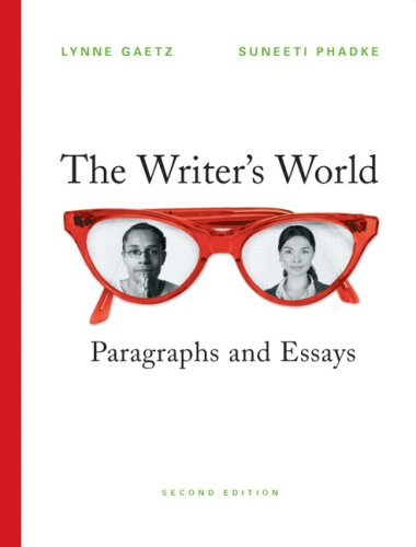 Writer's World: Paragraphs and Essays Value Pack (includes The Pearson Editing Exercises & MyWritingLab Student Acce