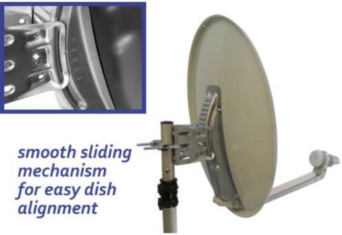 Satgear - Kit de antena parabólica portátil con receptor ...