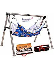 Indian Style Baby Swing Cradle - Portable Cradle - 2FRE with Fabric Cloth Free