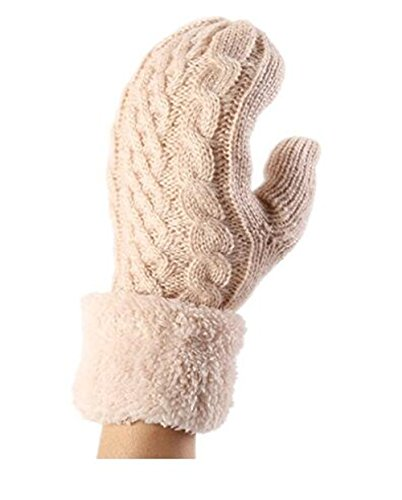 Genius_Baby Mohair Stripe Winter Gloves