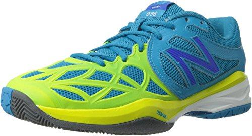 New Balance Women's WC996 Tennis Shoe,Blue,9 B US