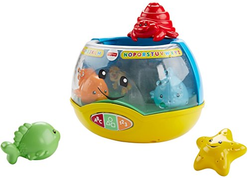 4119d2jJ7tL - Fisher-Price Laugh & Learn Magical Lights Fishbowl