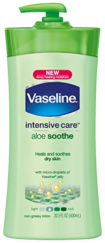 Vaseline Intensive Care Aloe Soothe Lotion 20.3 Oz