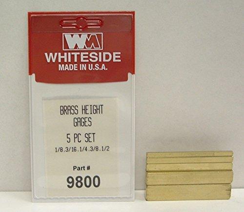 Whiteside Machine 9800 Brass Set Up Gauge Blocks