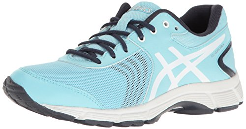 ASICS Women's Gel-Quickwalk 3 Walking Shoe, Pale Blue/White/Silver, 11 M US