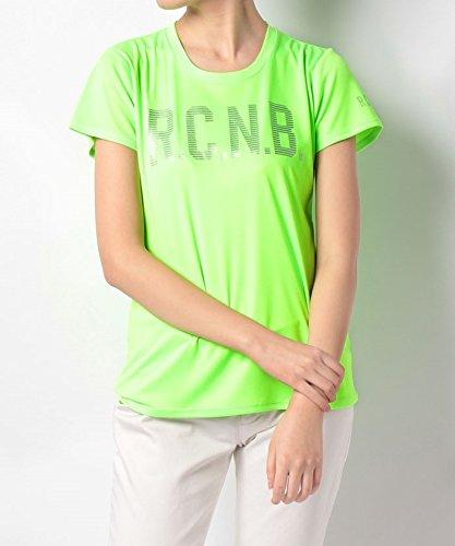 団結する繊毛ロータリー(ナンバー) Number レディースネオンカラービッグロゴTシャツ