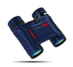 Tasco Off Shore 10x25mm Waterproof Compact Binoculars, Blue