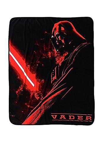 Star Wars Darth Vader Super Plush Throw (Star Wars Darth Vader Blanket)