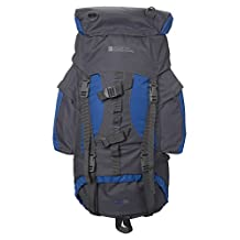 Mountain Warehouse Tor 65L Spacious Rucksack - Padded Travel Backpack