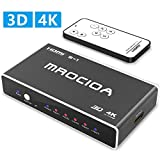 Best Hdmi Switchers - mrocioa Hdmi Switch, 5 Port 4K and 3D Review