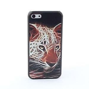MOFY- caso trasero protector del estilo del leopardo de 5c iphone