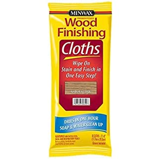 Minwax 308200000 Wood Finishing Cloths, Natural Oak 1