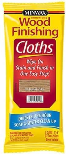 Minwax 308200000 Wood Finishing Cloths, Natural Oak 1