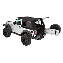 Bestop 54852-17 Trektop Pro Hybrid Soft Top for JK 2-door