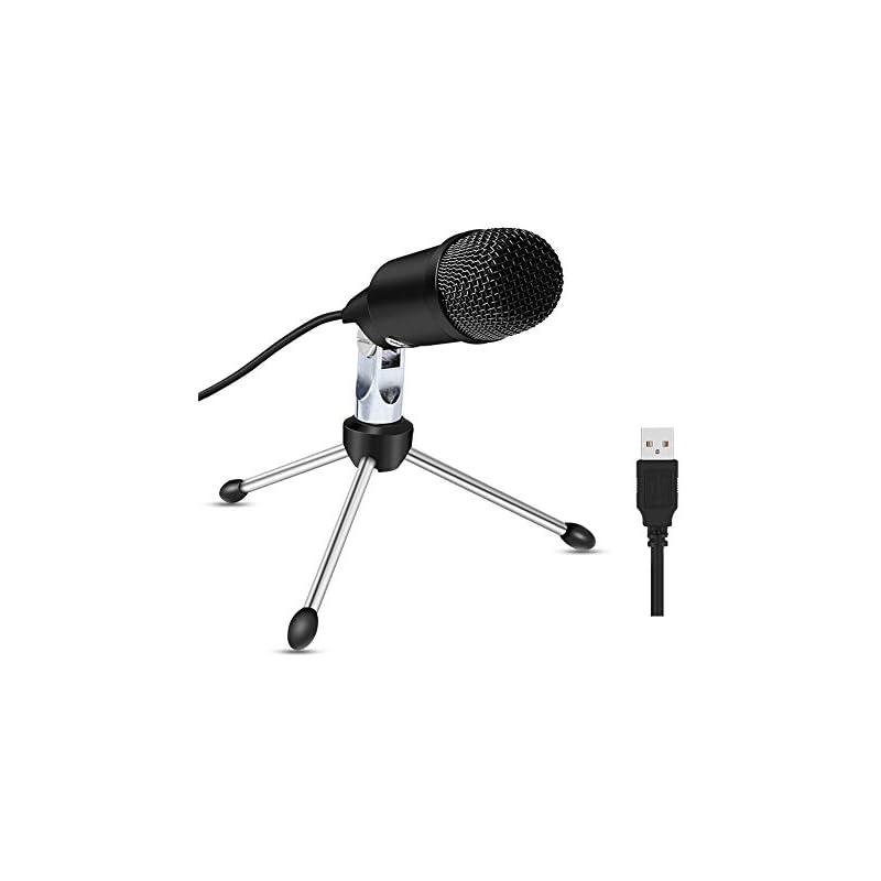 USB Microphone for Copmuter, ZealSound C