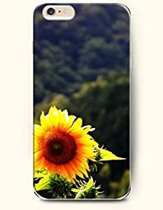 OOFIT iPhone 6 Case ( 4.7 Inches ) - A sunflower in valley