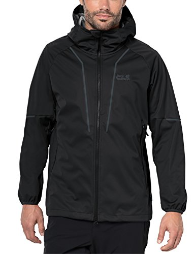 Jack Wolfskin Men's green Valley Jacket, X-Large, Black by Jack Wolfskin