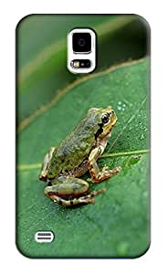 Frog Hard Back Shell Case / Cover for Samsung Galaxy S5