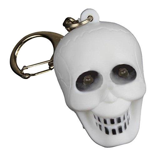 Led - Luminous Sound Cartoon Skull Plastic Animal Toy Led Key Chain - Guided Light-Emitting Diode - ()