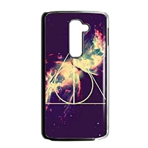 Deathly Hallows LG G2 Cell Phone Case Black Fantistics gift A_984979