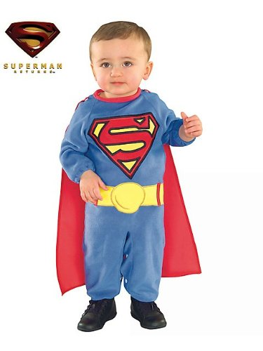 Superman Costume - Infant (Superman Baby Costumes)