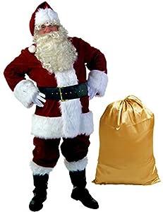 Ahititi Santa Suit Adult Costume 10pc. 2XL