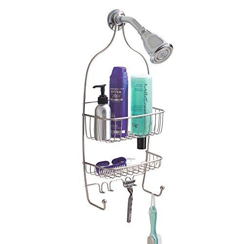 InterDesign Raphael Bathroom Shower Caddy, Regular - Satin