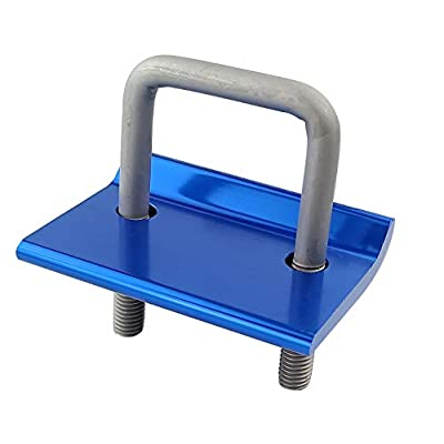 TOPTOW 64706 Trailer Hitch Tightener Anti Rattle Clamp for 1.25 Inch and 2 Inch Hitch Receiver Hitches, Blue, 2 Packs: Automotive