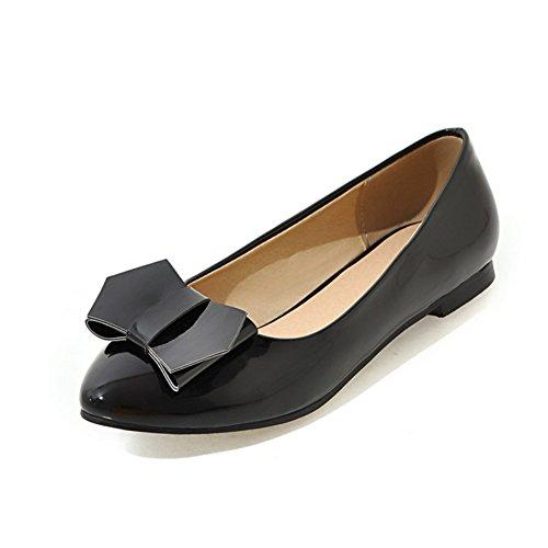 La versión coreana de zapatos puntiagudos plano superficiales/dulce y bajo arco zapatos planos D