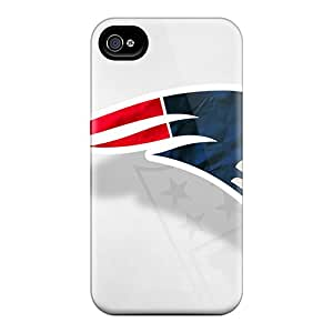 Scratch Resistant Hard Cell-phone Case For Iphone 6plus With Allow Personal Design Colorful New England Patriots Pattern DrawsBriscoe