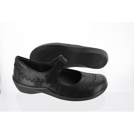 Ziera Women's Gummibear Black Leather B016AVDQ4O 9 B(M) US|Black Leather