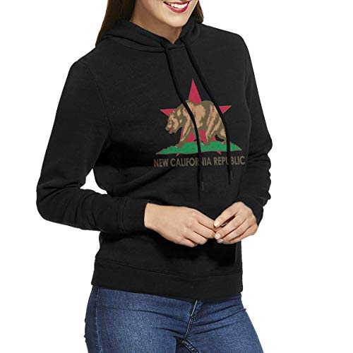 8f376f7e875e2 AA WIU New California Funky Hoodie Sweatshirts Exercise Pullovers Sweaters  for Women
