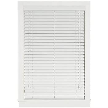 home furnishings inch wood blind white 2 faux blinds cordless richfield studio off