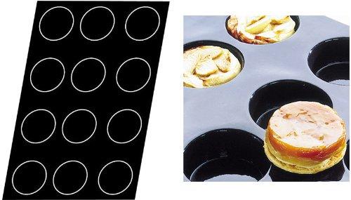 Flexipan 336020 Tarte Tatins-Quiches Nonstick Sheet Mold