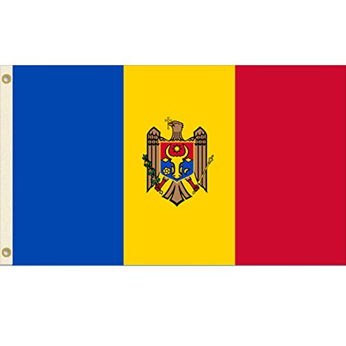 Vista Flags 3x5 Moldova Flag Country Banner Pennant